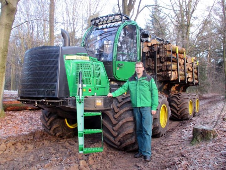 Second John Deere forwarder for Talen