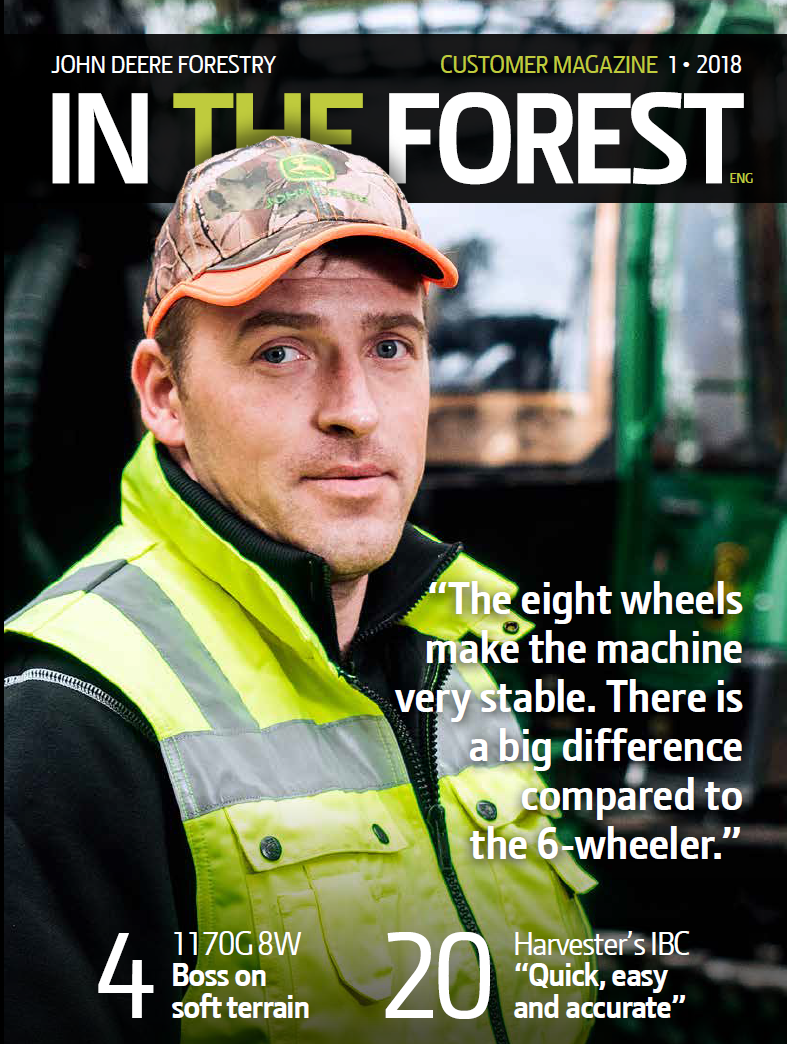 John Deere Forestry - In The Forest, Customer Magazine - 01-2016
