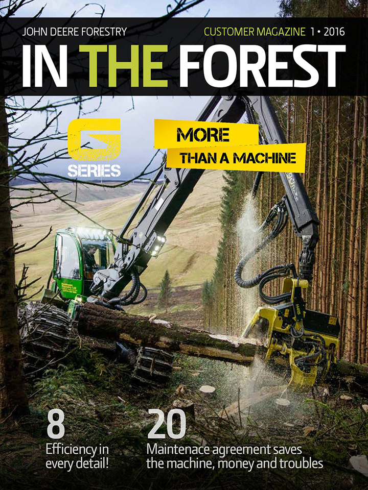 John Deere Forestry - In The Forest, Customer Magazine - 02-2016